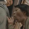 昭和ブルーフィルム-使用人の竿をしゃぶる母、娘