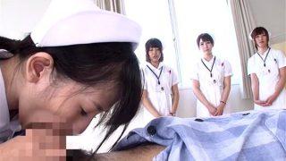 新人看護師ディープスロートごっくん吐精処置研修 美咲まや 星咲伶美 七海ゆあ 永倉由梨 1rctd00035